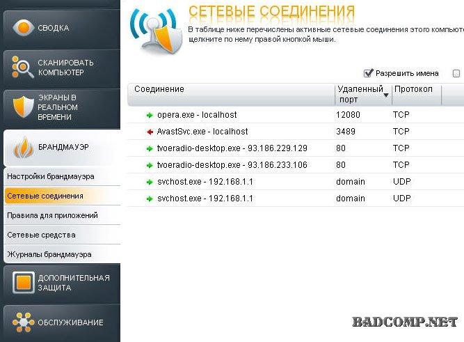 Файрвол за допомогою якого можна блокувати доступ в інтернет