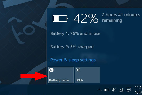 battery saver windows