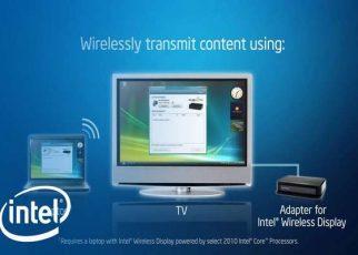 Новая технология от Intel Wireless Display (WiDi) 1