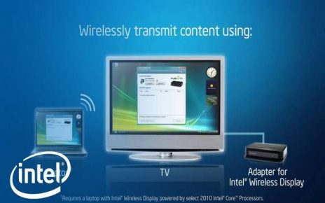 Новая технология от Intel Wireless Display (WiDi) 1