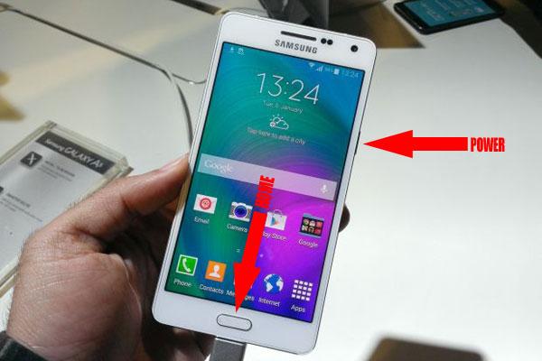 Как сделать скриншот на Samsung Galaxy A3 и A5